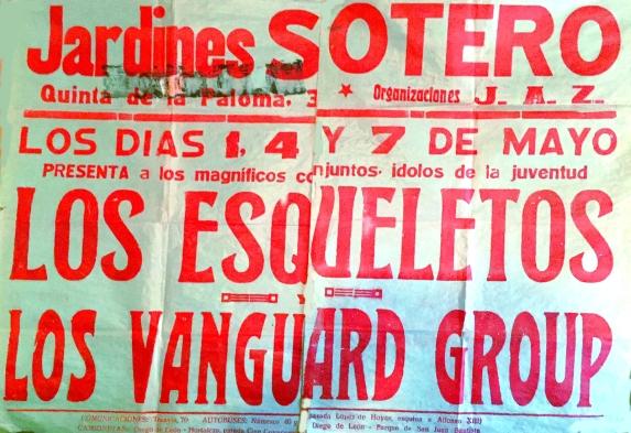 Los Vanguards - CARTEL Jardines Soltero