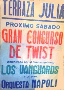 Los Vanguards - CARTEL TERRAZA JULIA MIRAFLORES DE LA SIERRA