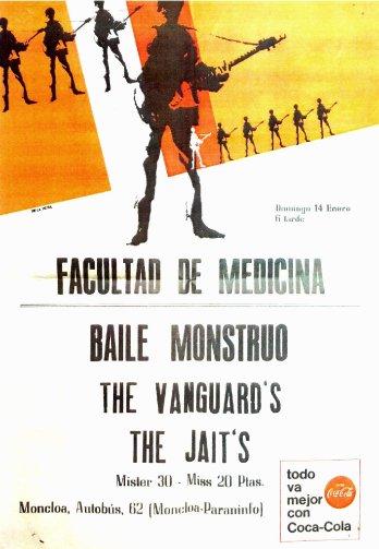 Los Vanguards - FACULTAD DE MEDICINA 1965