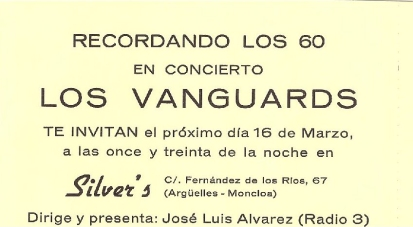 Los Vanguards - REVIVAL LOS VANGUARDS A O 83