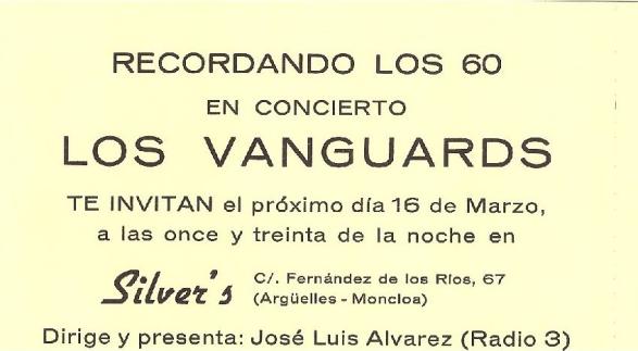 Los Vanguards - REVIVAL LOS VANGUARDS A O 83