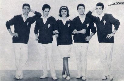 06-Esther entra en Los Pekes. Año 1963