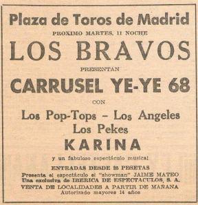 C4 CARRUSEL YEYE 1968_