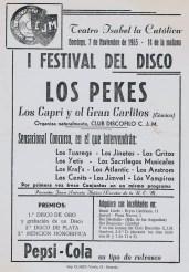 C7 I Festival del disco Granada 7-11-65