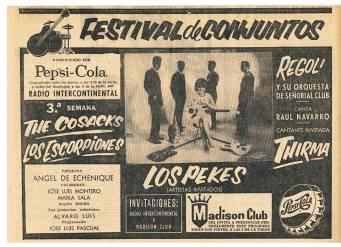 C8 FESTIVAL DE CONJUNTOS 1966