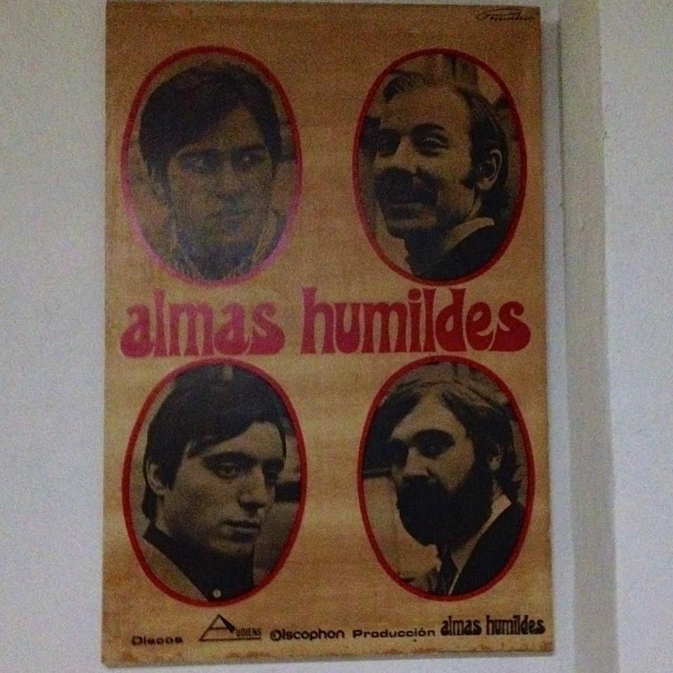 Cartel Almas Humildes