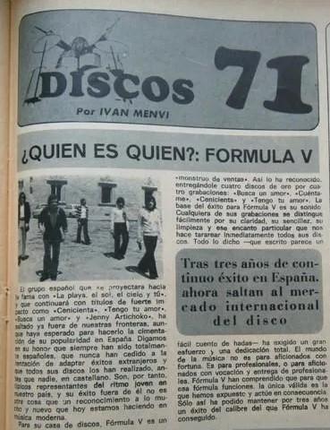 FormulaV - Discos 71