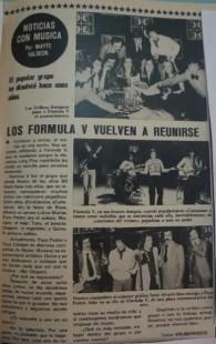 FormulaV - Lecturas Vuelta grupo