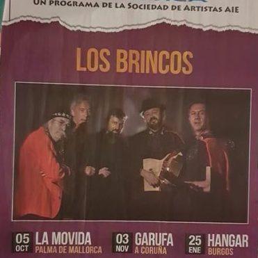 cartel brincos AIE DE NUEVO